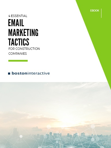 Email Marketing for Construction Ebook Cover